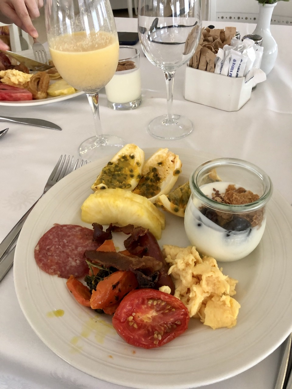Luxury Bahia Principe Buffet Breakfast