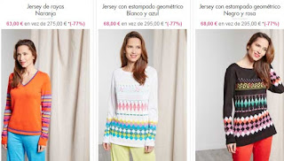 jerseis para mujer de Chacok