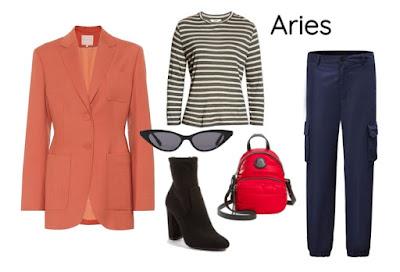 Gaya pakaian zodiak Aries