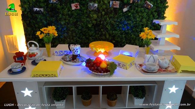 Decoração tema Chá de Tarde para festa feminina adulta