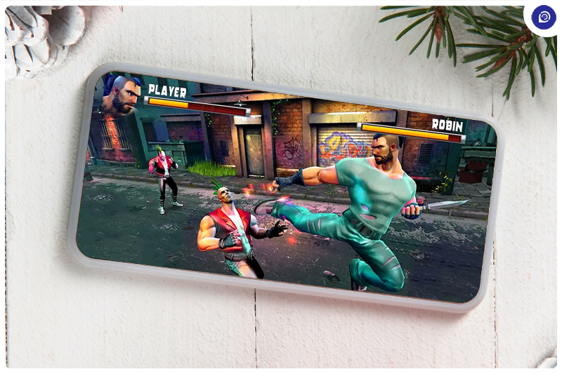 Fight the Enemies With Kung Fu Commando.