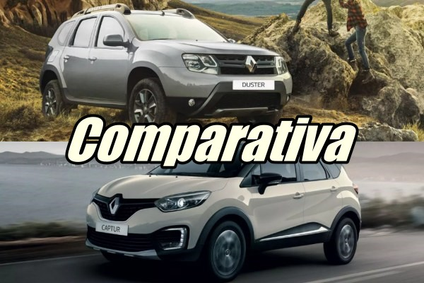 Comparativa Renault Captur vs Renault Duster