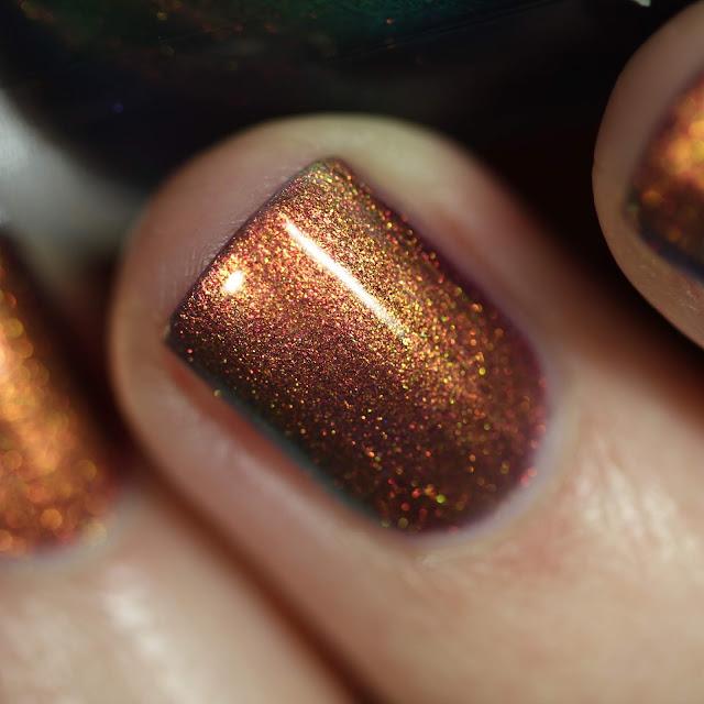 KBShimmer Mermaid in the Shade magical shifting nail polish