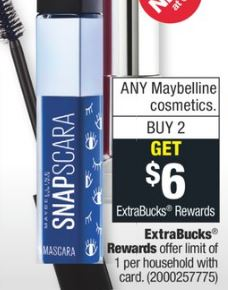 free Maybelline cvs couponers