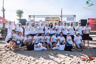 Công ty Vinh Quang tổ chức TeamBuilding tại biển Hạ Long – Pirlo Media