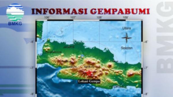 Lokasi Gempa Bumi Kabupaten Bandugn 2020