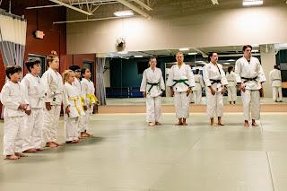 Kids judo line | kids judo Ann Arbor