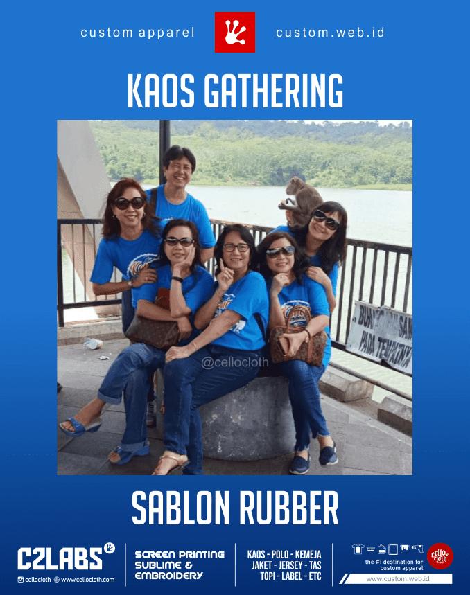Kaos Gathering Custom Sablon Kaos Jogja - C2 Labs