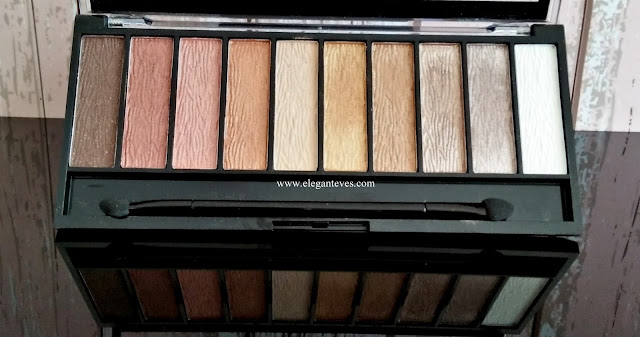 Sivanna Colors Makeup Studio Pro Eyeshadow palette 01 review