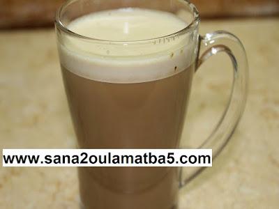 النسكافيه ، القهوة بالحليب