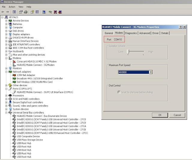 Unlock Huawei B970 HSDPA Modem Step-1.2