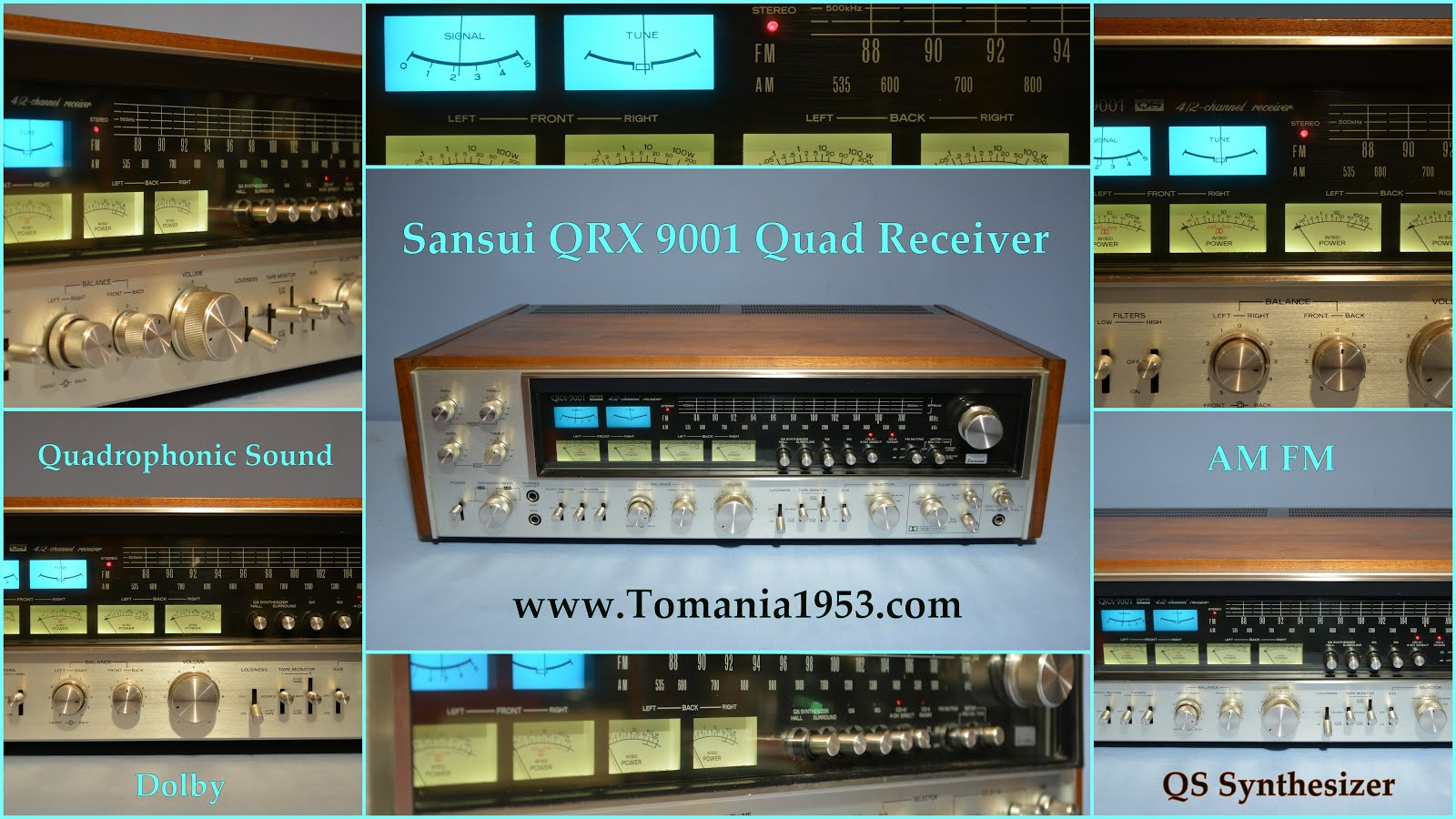 Sansui QRX 9001 Quad FM AM Receiver