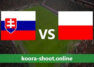 القنوات الناقلة لمباراة بولندا وسلوفاكيا اليوم بتاريخ 14/06/2021 يورو 2020