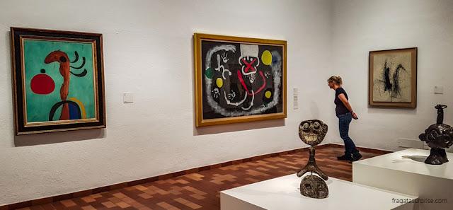 Pinturas de Joan Miró em Barcelona