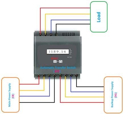 transfer switch diagram