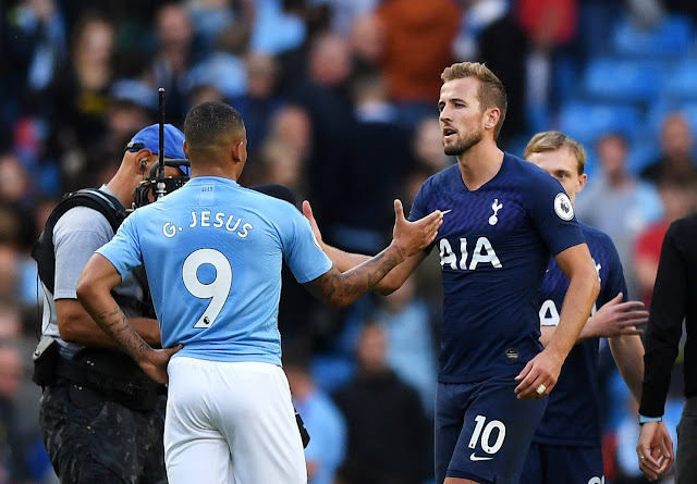 Quyết giành Kane, Juve không rời mắt khỏi Jesus