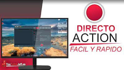 como hacer un directo con action, hacer un directo en youtube, action, youtube, directos