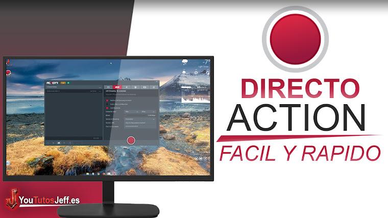 Como Hacer un Directo con Action en Youtube 2018 - Fácil y Rápido