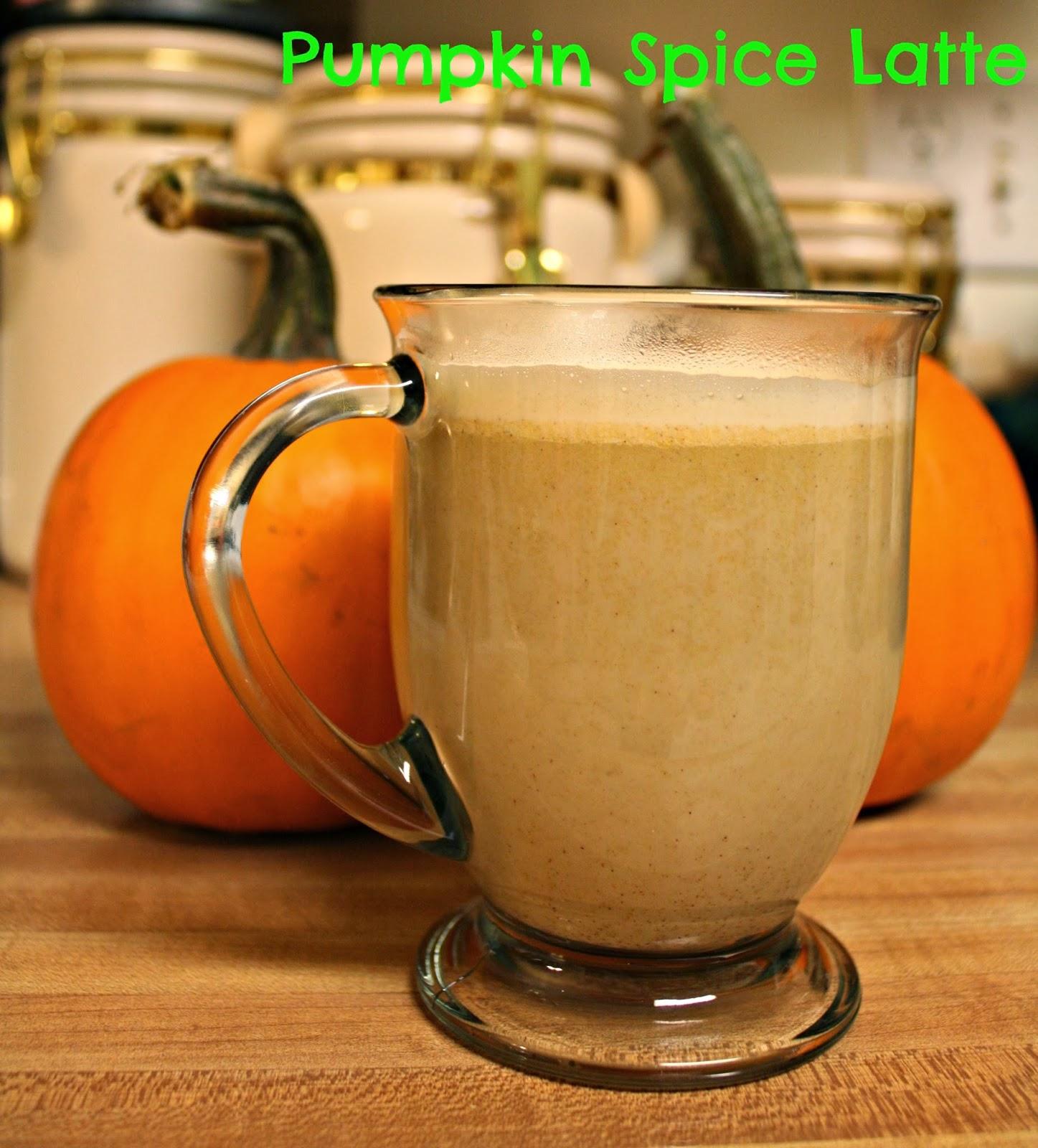 A Little Time And A Keyboard: Homemade Pumpkin Spice Latte