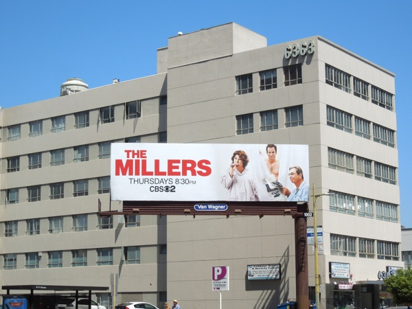The Millers CBS billboard