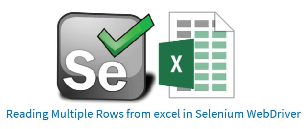Reading Multiple Rows from excel using Apache POI in Selenium WebDriver