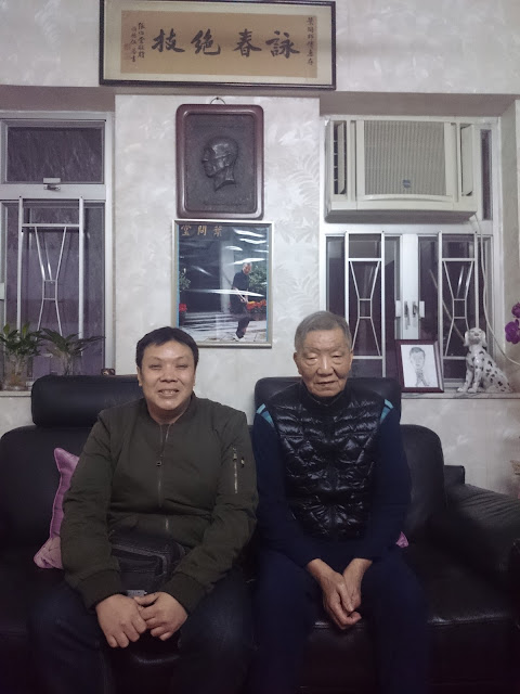 Chinese New Year at Sifu's house where Grand Master Ip Man used to live in