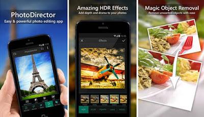 yang memanfaatkan Aplikasi android untuk dipasang di handphone kita Unduh Aplikasi PhotoDirector New Version for Android