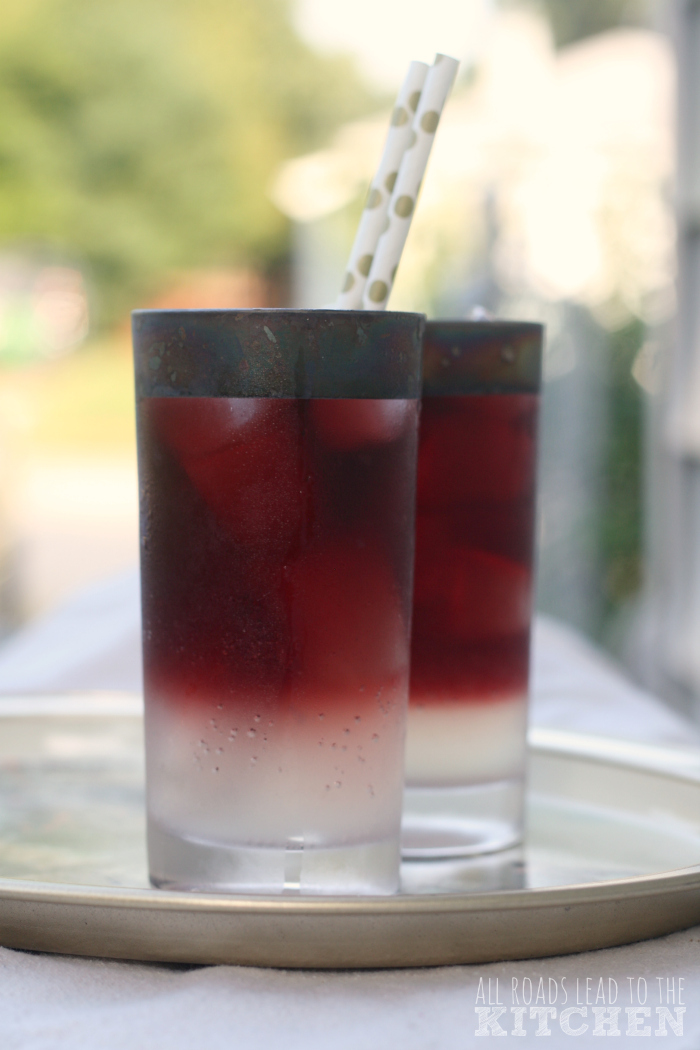 Red Wine Spritzers