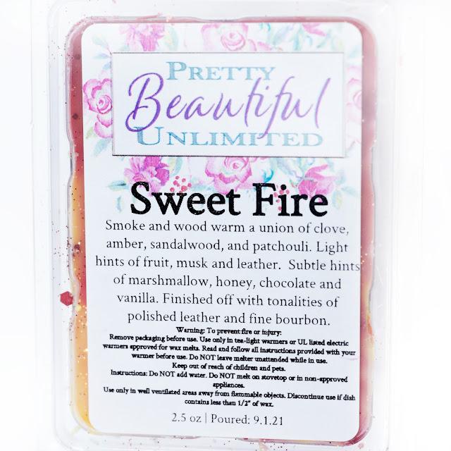 Pretty Beautiful Unlimited Sweet Fire Wax