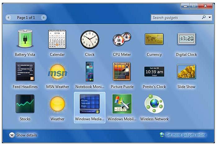 Forex widget desktop