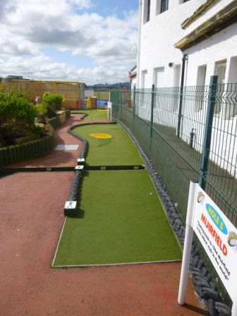 Mini Championship Golf at Pirate Pete's Family Entertainment Centre in Ayr