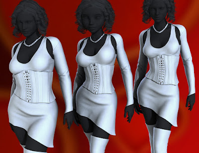 Keeper for Genesis 3 Female