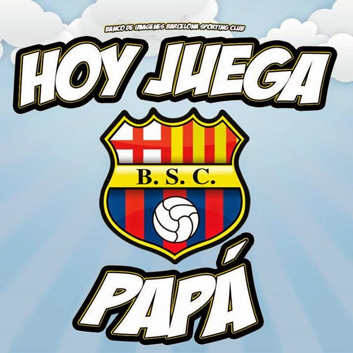 HOY JUEGA PAPÁ Ídolo del Ecuador 0ea84a60aba