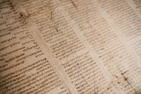 Hebrew Scroll - Photo by Tanner Mardis on Unsplash