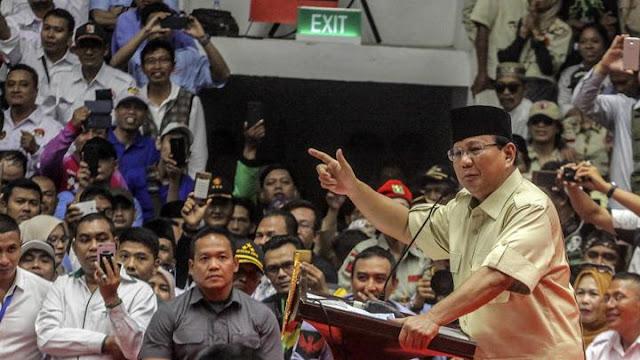 Prabowo Sayang Tukang Ojek