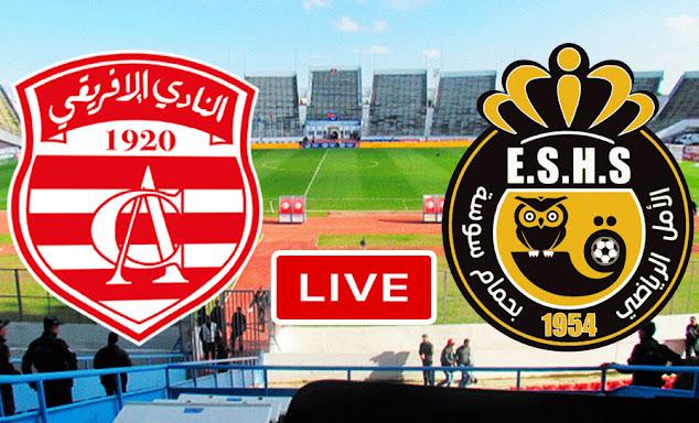 Coupe De Tunisie Match Club Africain vs Espoir sportif de Hammam Sousse Live Stream