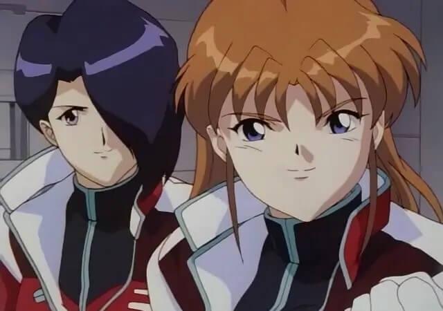 Kaede and Momiji Kushinada of Blue Seed