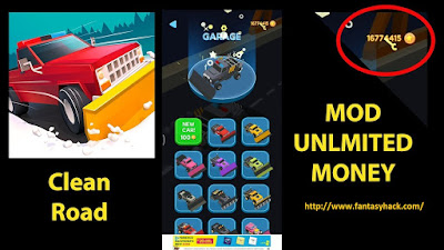 Download Free Clean Road Unlimited Money/Coin 100% working and Tested for IOS and Android.