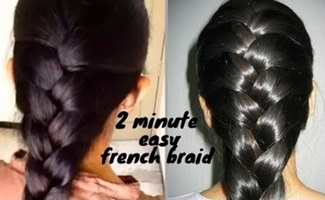 How to Braid Your Own Hair For Beginners   How to Braid   hairstyle for medium to long hair