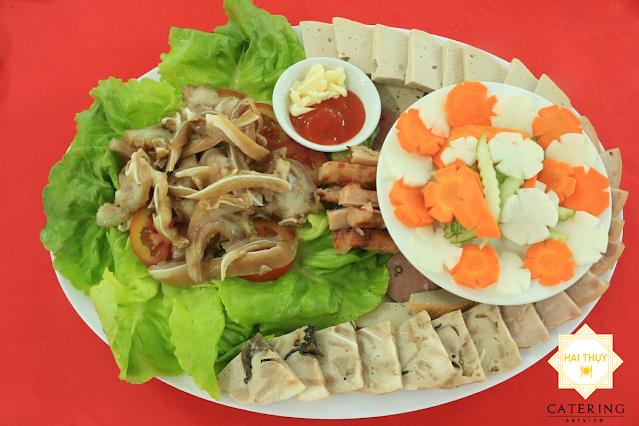 Món khai vị: Thịt Nguội Bát Bửu