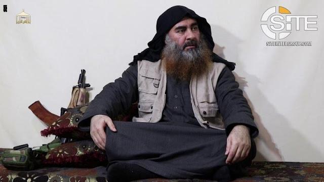 عاجل: استهداف البغدادي زعيم داعش في غارة امريكية .. والبيت الابيض يعلق