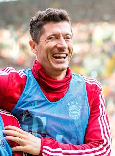 Footballer-Robert-Lewandowski