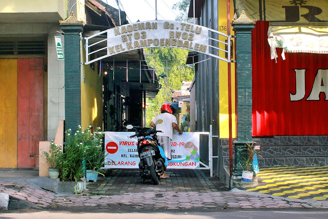 Kegigihan Warga Kota Kediri Melawan Stigma terhadap Corona