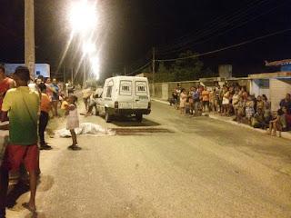 Ciclista e motociclista morrem em colisão na zona Sudeste de Teresina