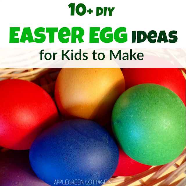 These Easter egg dye ideas and crafts are just too cute and I couldn't resist showing them off to you! I hope you'll find an inspiration for your Easter celebration here. Kids will love it!