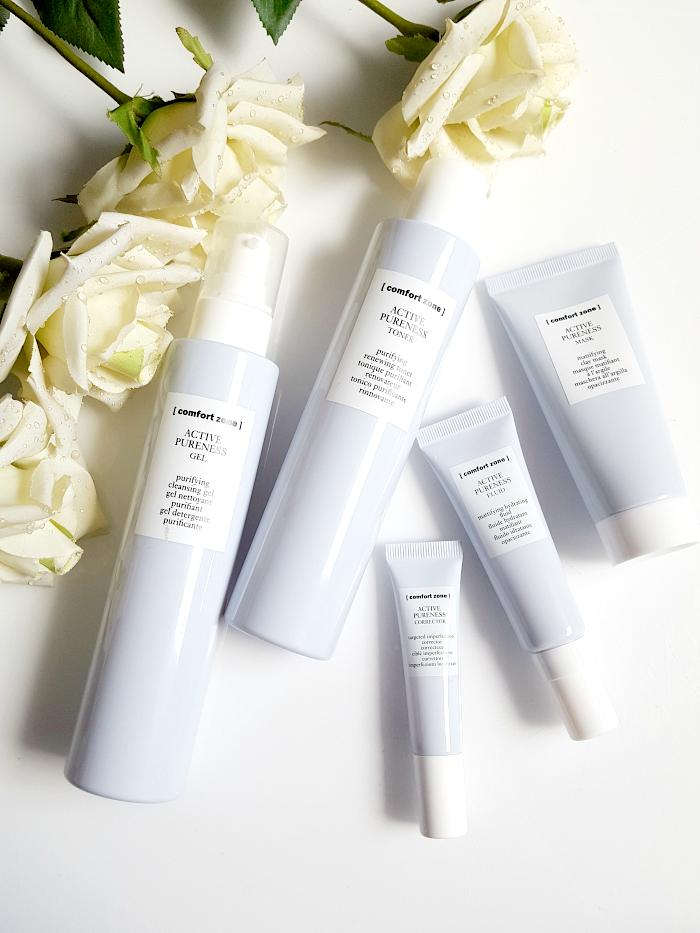 Review & Erfahrungen: Comfort Zone - Active Pureness Hautpflege für unreine Haut aus dem Kosmetikinstitut Spa
