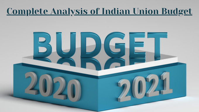 Indian Union Budget 2021.