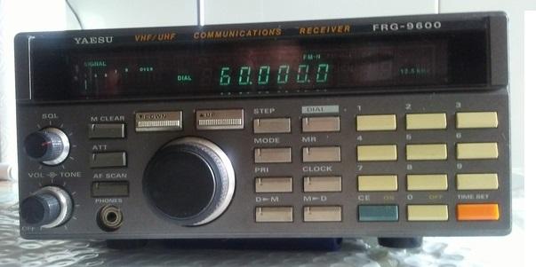 Yaesu FRG-9600 Receiver