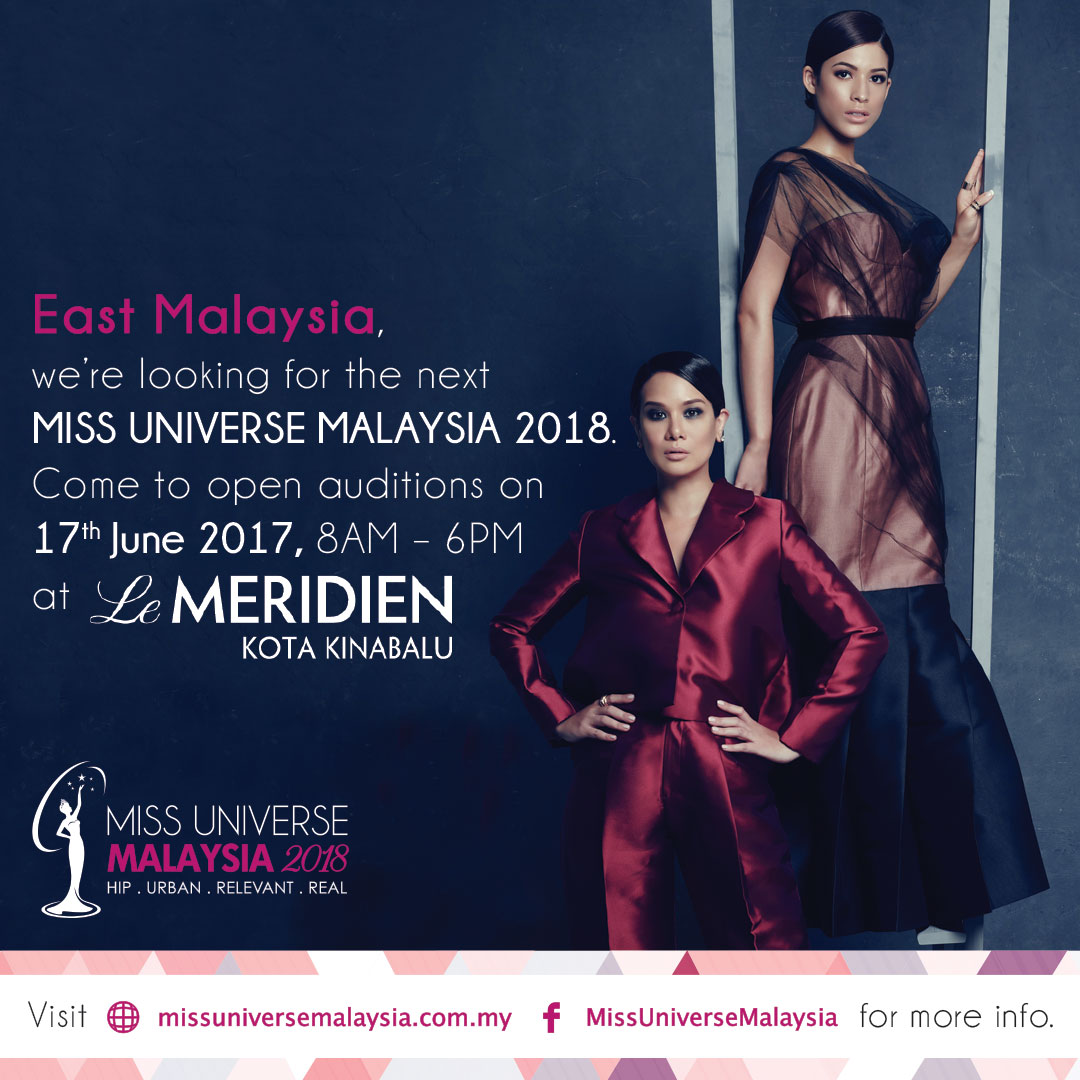 The Search Is On For The Next Miss Universe Malaysia 2018