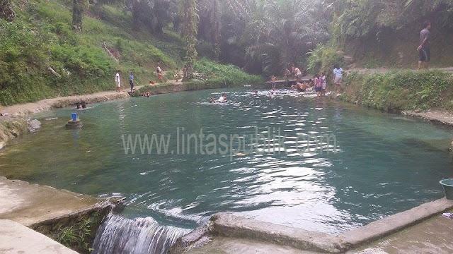 Nikmati Kesejukan Air Bah di Sampuran Balata Kabupaten Simalungun
